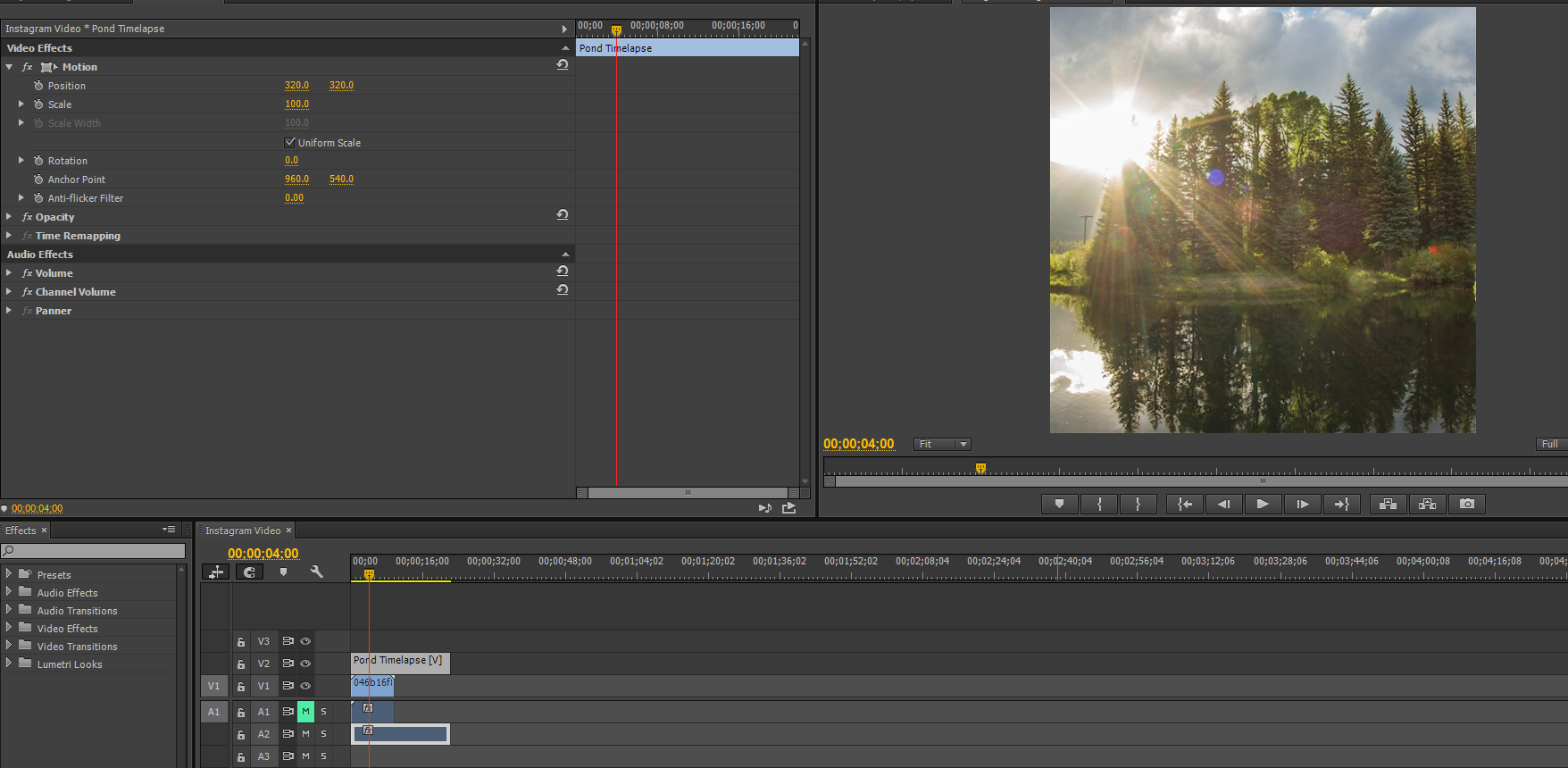 Custom Frame Size Premiere Pro Cs5 | Louisiana Bucket Brigade