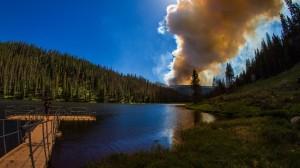 Lake Alberta Wildfire