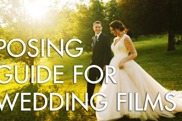 A wedding cinematographer's guide to posing the couple