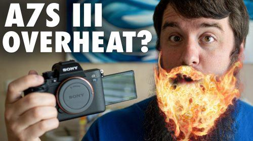 Sony A7S III Overheating Test