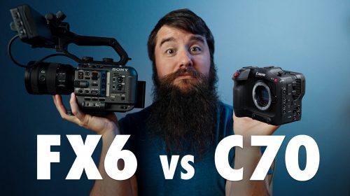 Canon C70 vs Sony FX6