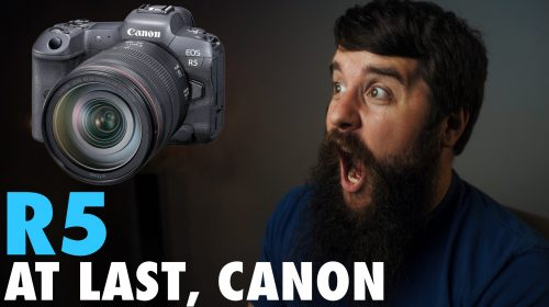 Canon R5 - A Sony Filmmaker's Perspective