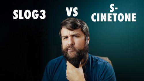 SLOG3 vs S-Cinetone
