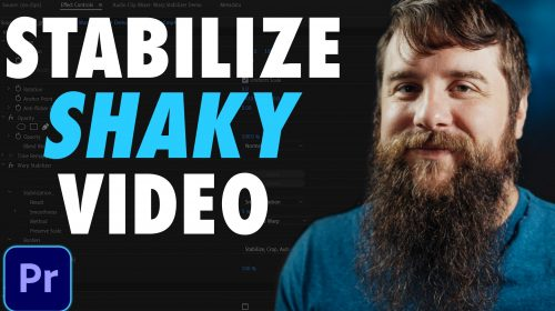 Warp Stabilizer EXPLAINED - Fix Shaky Video in Premiere Pro