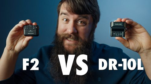 Tascam DR-10L vs Zoom F2